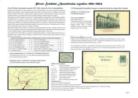 DIE ERSTE SCHWEDISCHE ANTARKTISCHE EXPEDITION 1901-1904