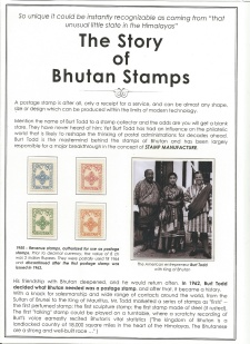 THE STORY OF BHUTAN STAMPS