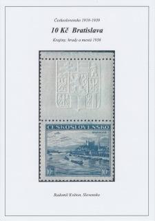 ČESKOSLOVENSKO 1918-1939: 10 Kč BRATISLAVA