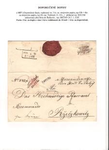 List číslo 58