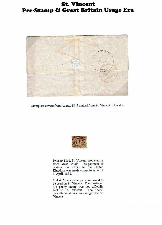 Philatelistisches Exponat: ST. VINCENT - EINE PHILATELISTISCHE SAMPLER