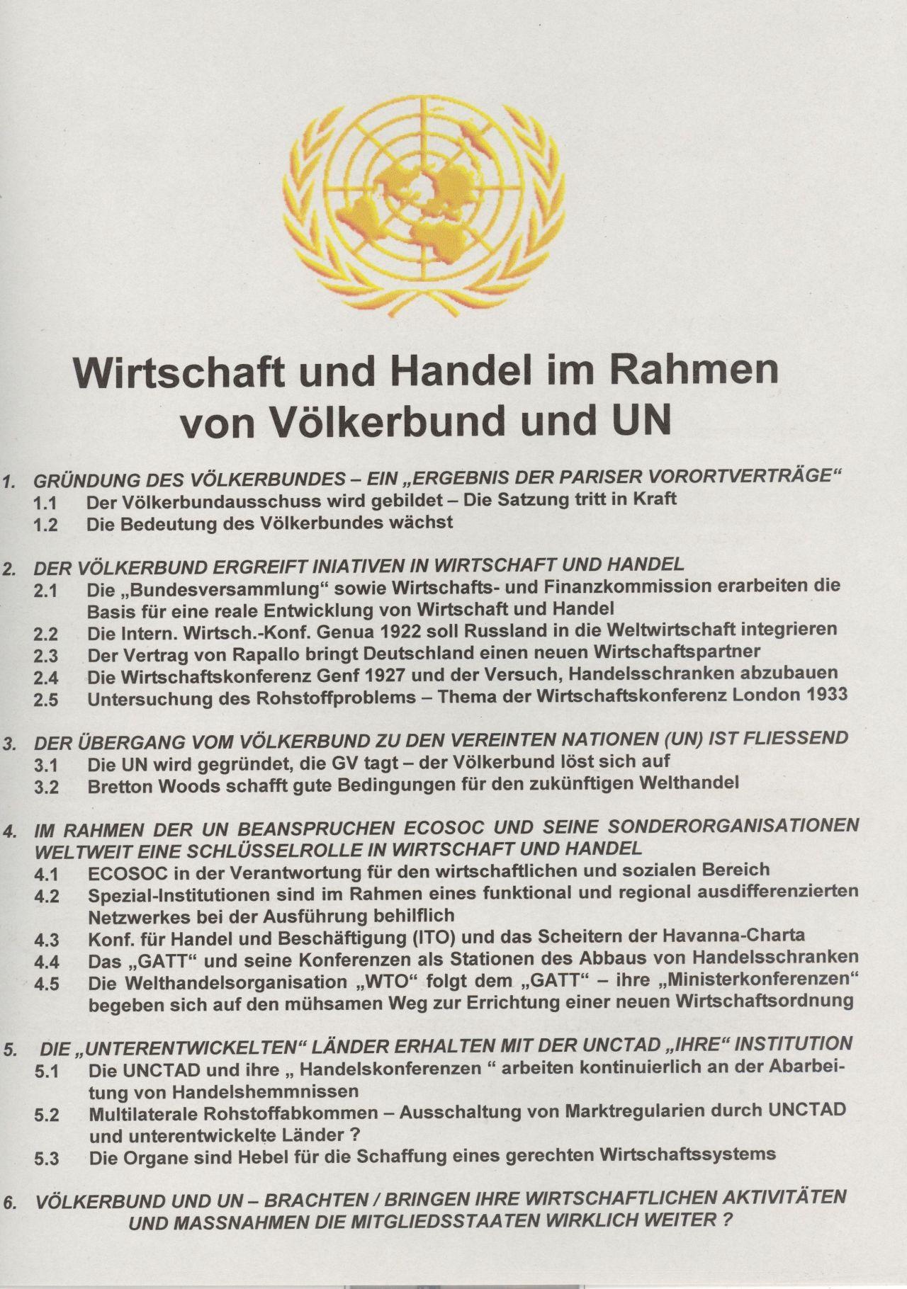 Philatelistisches Exponat: WIRTSCHAFT UND HANDEL IM RAHMEN VON ...