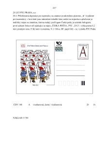 List číslo 237