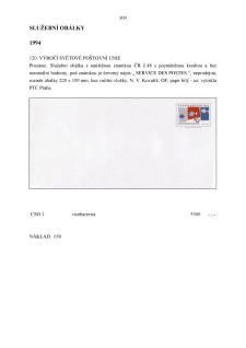 List číslo 309