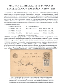 HUNGARIAN STATIONERY CARDS 1900-1918 USED WITH SUPPLEMENTARY POSTAGE